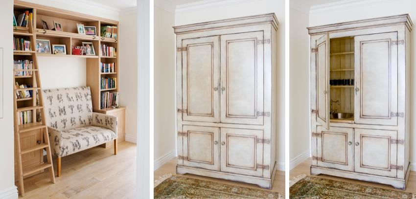 Oak Book Shelf
